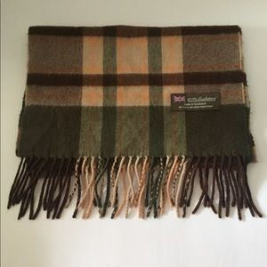 Other - 100% CASHMERE TARTAN SCARF MADE IN SCOTLAND